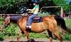 Labzara Ranch - Broken Arrow: Two or Four Kids' Horseback Rides or Two Adult Horseback Rides at Labzara Ranch (Up to 50% Off)