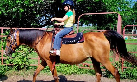 Two or Four Kids' Horseback Rides or Two Adult Horseback Rides at Labzara Ranch (Up to 50% Off)