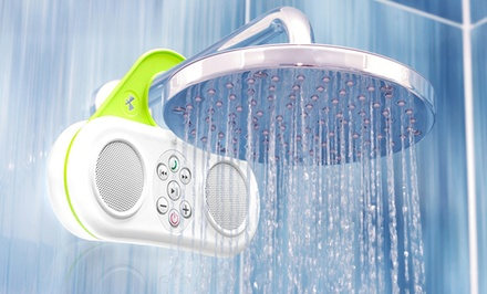 Gator Sound Waterproof Bluetooth Shower Speaker/Speakerphone