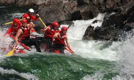 $59 for  Rafting Trip from Liquid Lifestyles Whitewater Rafting & Kayaking in Clearwater ($99 Value)