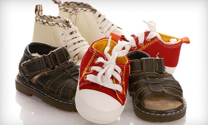 Kiddie Kobbler Waterloo - Waterloo: $20 for $40 Worth of Kids' Shoes at Kiddie Kobbler Waterloo
