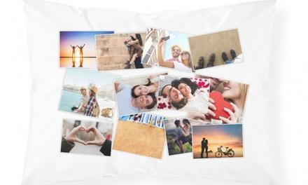 1 o 2 fundas de almohada personalizadas con collage de fotos desde 6,99 € con Personalised Gift Market