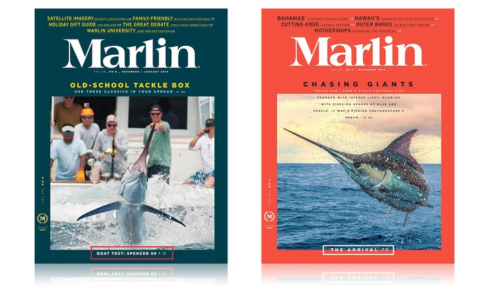 1-Year 8-Issue Subscription to Marlin Magazine