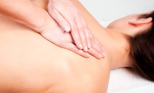 Natural Life Clinic: Chiropractic Exam, Adjustment, and Massage, or Two 60-Minute Massages at Natural Life Clinic (Up to 82% Off)
