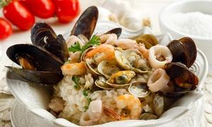 Ristorante Il Moscardino: Menu di pesce di 2 o 3 portate con bottiglia di vino (sconto fino a 61%)