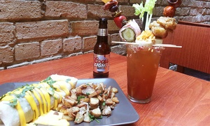 Devil's Advocate: Four Jameson Shots and Tap Beers or $20 for $40 Worth of Brunch Food at Devil's Advocate