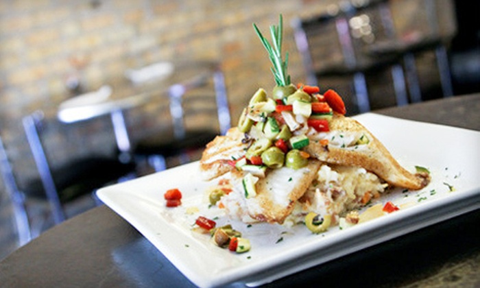 Café Bella - Logan Square: Three-Course Fusion Dinner for Two or $10 for $20 Worth of Lunch or Brunch at Café Bella