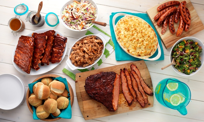HoneyBaked Ham - Multiple Locations: $25 for Choice of Summertime Barbecue Meal Package from HoneyBaked Ham (Up to 50% Off)
