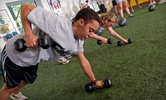 CATZ Sports Performance Training Centers - Multiple Locations: Athletic-Training Sessions for Kid or Adult at CATZ Sports Performance Training Centers (Up to 87% Off)