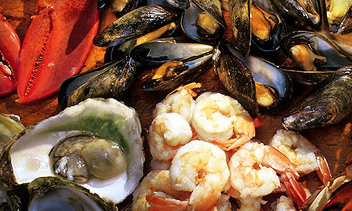 Firebird Restaurant - Hell's Kitchen,Midtown,Midtown West,Theatre District: $45 for a Seafood Tower for Two with Prosecco or Vodka at Firebird ($110 Value)