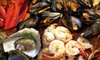 Firebird Russian Restaurant - Hell's Kitchen: $45 for a Seafood Tower for Two with Prosecco or Vodka at Firebird ($110 Value)