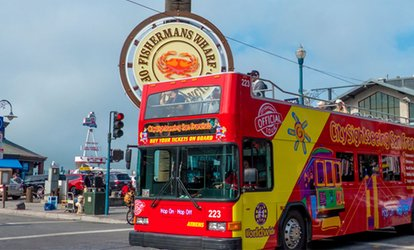 image for Hop On/Hop Off Tour for Adults or Children from City Sightseeing (Up to 11% Off). Four Options Available.