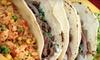 Los Reyes - Southeastern San Diego: $10 Worth of Mexican Food