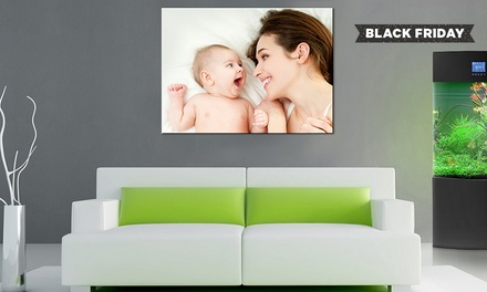 Collage or Single Image Framed Canvas Print from £2.95
