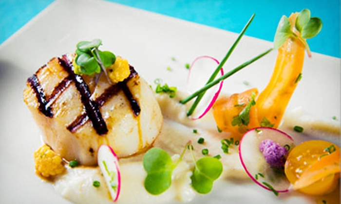 Timo's at Villa Mayfair - Northeast Coconut Grove: $59 for a Contemporary American Dinner for Two at Timo's at Villa Mayfair (Up to $112 Value)