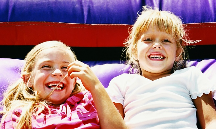 Bounce Town - Oswego: 5 or 10 Open-Bounce Visits at Bounce Town (Up to 51% Off)