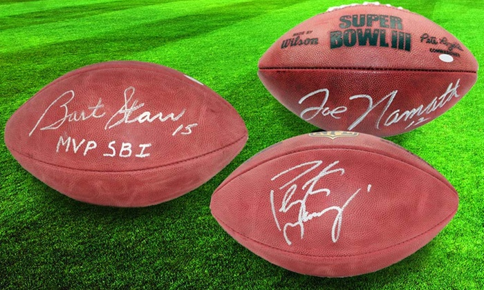 Official Autographed NFL Football or Glass Display Case: Official Autographed NFL Football or Glass Display Case. Multiple Player Autographs Available. Free Shipping.