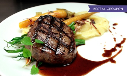 Upscale Three-Course Prix-Fixe Meal for Two or Four at Showcase Restaurant & Bar (Up to 48% Off)