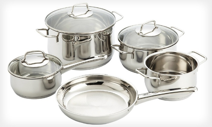 WMF Collier Eight-Piece Cookware Set: $79 for WMF Collier Eight-Piece Cookware Set ($390 List Price). Free Shipping and Free Returns.