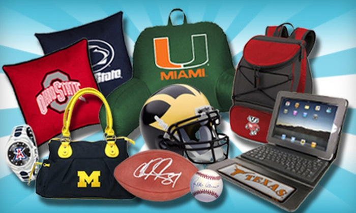Gameday Goods: $25 for $50 Worth of Collegiate- and Pro-Sports Gifts from Gameday Goods