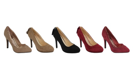 Women's Suede Stiletto Heels