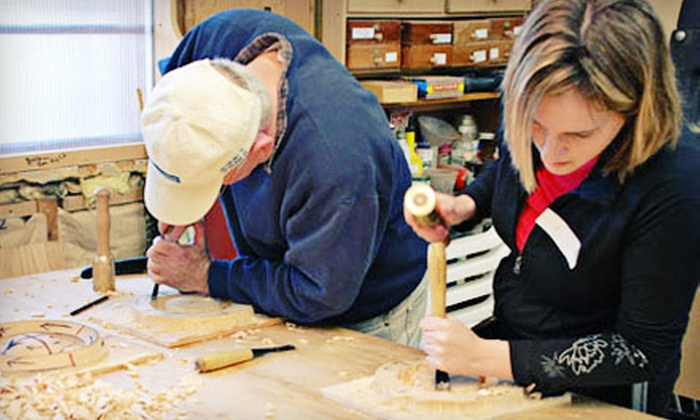 Calvo Studio - East Gloucester: Four-Hour Introductory Woodcarving or Clay-Modeling Class for One or Two at Calvo Studio (Up to 67% Off)