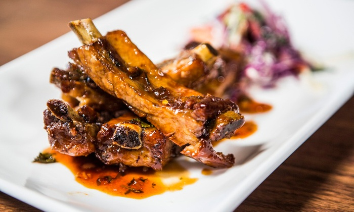 SP2 Communal Bar + Restaurant - Downtown San Jose: $18 for $30 Worth of New American Cuisine for Two or More at SP2 Communal Bar + Restaurant