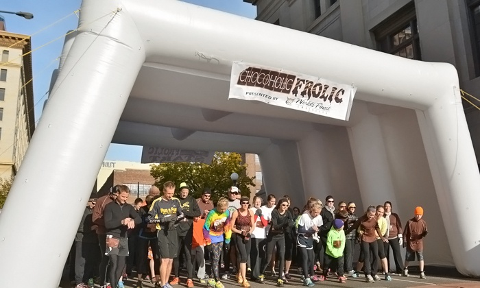 Chocoholic Frolic - Lone Star Park: Admission for One, Two, or Four to Chocoholic Frolic 5k or 10k on November 23 from Final Stretch (Up to 52% Off)