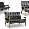 Togo Mid-Century-Inspired Bicast Leather Furniture
