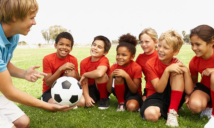 Super Kickers - PS290: Six Weeks of Kids Basic Soccer Classes from Super Kickers (31% Off). Three Options Available.