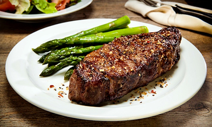 Gamaroff's Bar & Grill - Hallandale Beach: $59 for a Prix-Fixe Dinner for Two with Bottle of Wine at Gamaroff's Bar and Grill ($120 Value)