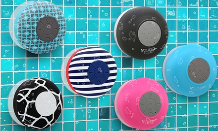 Aduro AQUASound Bluetooth Shower Speaker with Mic and Controls