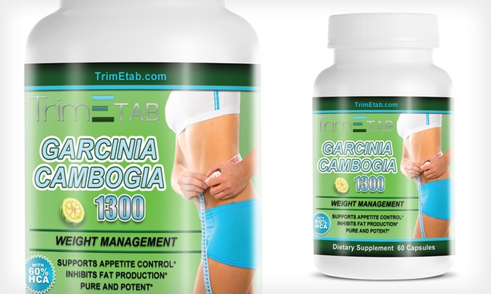 Garcinia Cambogia Weight Loss Supplements: One, Two, or Three Bottles of Garcinia Cambogia Weight Loss Supplements (Up to 84% Off)