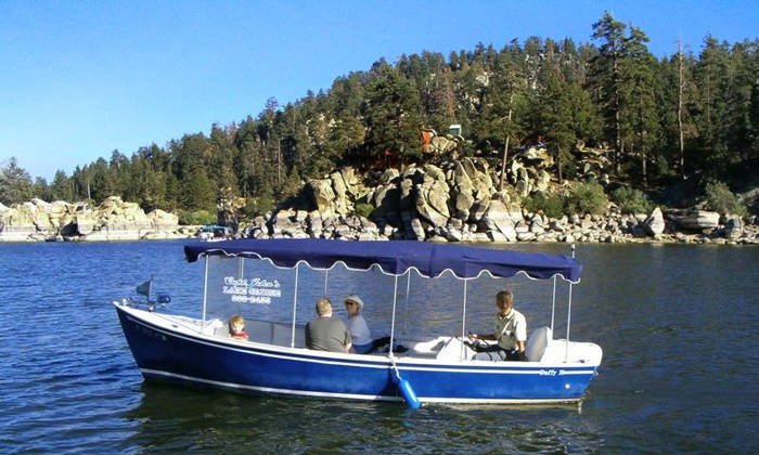 Captain John's Fawn Harbor & Marina - Inland Empire: Two-Hour Boat Tour of Big Bear Lake for Two or Four from Captain John'S fawn Harbor Marina (Up to 50% Off)