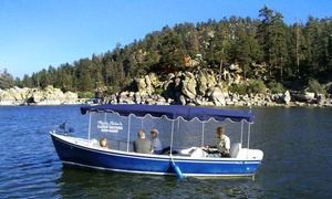 Captain John's Fawn Harbor & Marina: Two-Hour Boat Tour of Big Bear Lake for Two or Four from Captain John'S fawn Harbor Marina (Up to 50% Off)