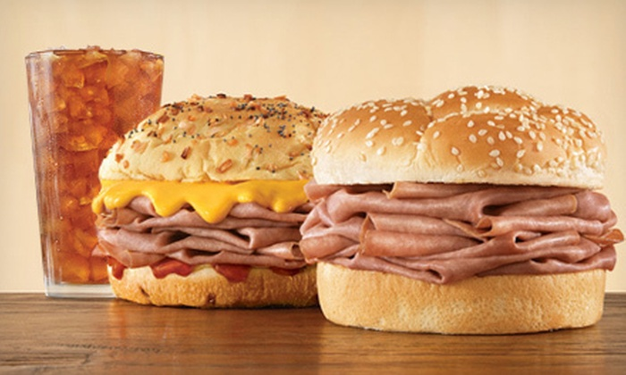 Arby's - Multiple Locations: $5 for $10 Worth of Sandwiches, Salads, and Curly Fries at Arby's