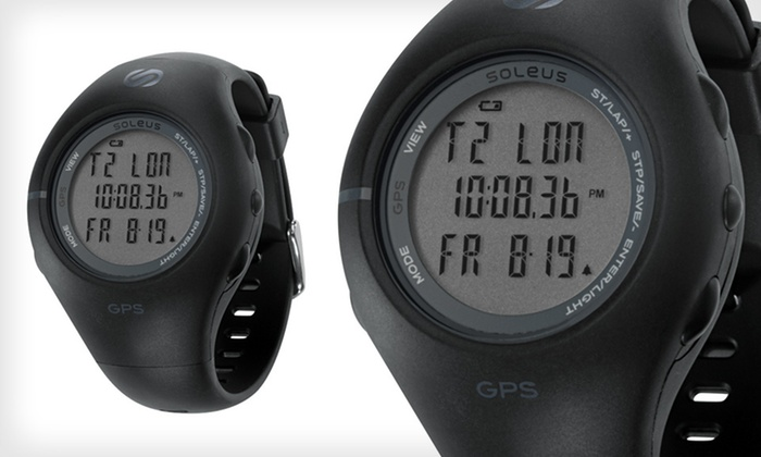 Soleus Unisex GPS 1.0 Watch: $59 for a Soleus Unisex GPS 1.0 Watch in Black/Gray ($99 List Price). Free Shipping and Free Returns.