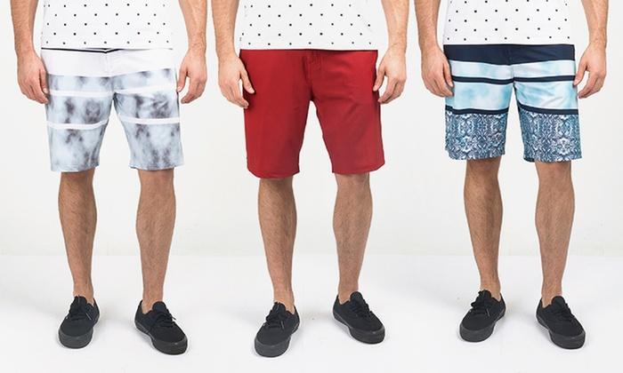 Micros Men's Hybrid Board Shorts (Sizes 31 & 36)