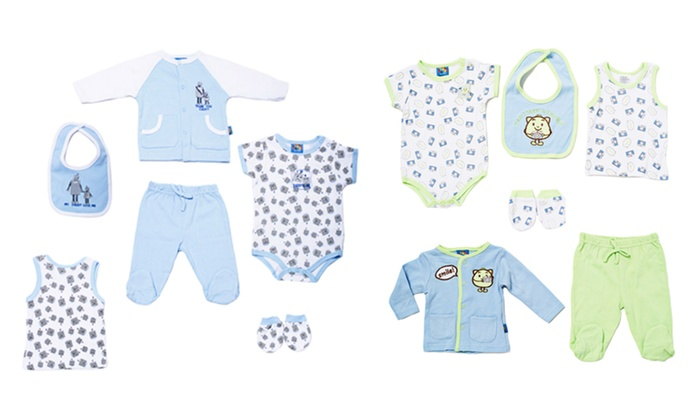 Sweet and Soft 6-Piece Apparel Set for Newborns: Sweet and Soft 6-Piece Apparel Set for Newborns. Multiple Colors and Designs Available. Free Returns.