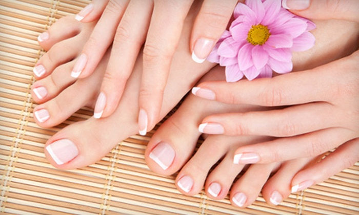 Clear Skin Day Spa - Westmont: One, Two, or Three Spa Manicures and Pedicures at Clear Skin Day Spa in Westmont (Up to 63% Off)