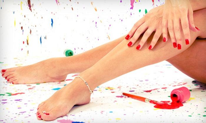 The Nail Artist - Tulsa: One or Three Express or Spa Mani-Pedis at The Nail Artist (Up to 63% Off)
