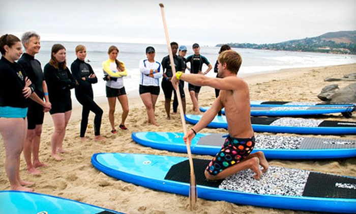 Stand Up Paddle Co. - Laguna Beach: Standup Paddleboard Lessons and Rentals at Stand Up Paddle Co. in Laguna Beach (Up to 58% Off). Four Options Available.