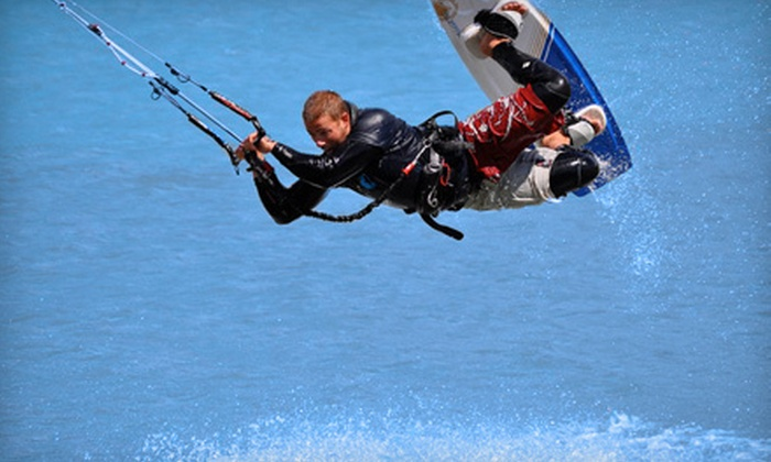 Aerial Kiteboarding - Parc La Salle: $49 for an Intro to Kiteboarding Class at Aerial Kiteboarding ($99 Value)