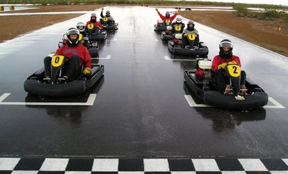 image for $30 for Three Fast-Kart Races for One at Musselman Honda Circuit ($90 Value)