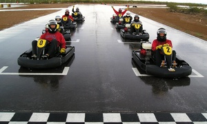 Musselman Honda Circuit: Three Fast-Kart Races for 1, 2, or 4 or a Race-School Program at Musselman Honda Circuit (Up to 72% Off)