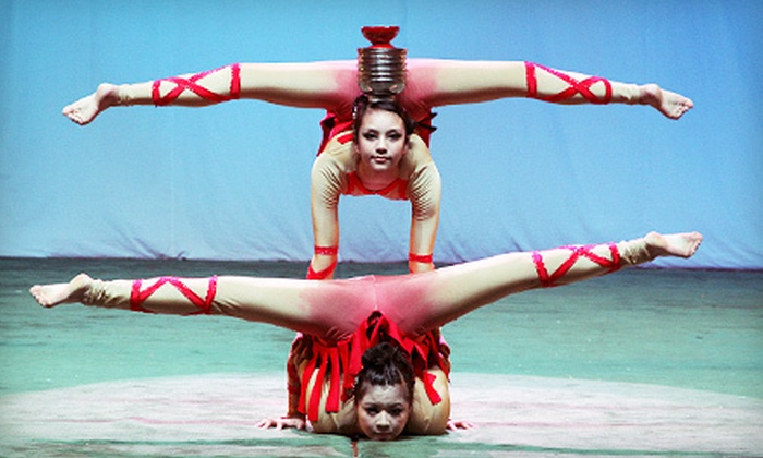 Cirque Chinois - Downtown: $99 for Cirque Chinois Performance for Four at Music Hall Center on November 24 or 25 (Up to $238 Value)