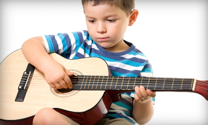 Palen Music Center - Multiple Locations: $19 for Four Private Instrument Lessons at Palen Music Center ($75 Value)