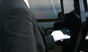 Blessed Limousine Inc.: One-Way or Round-Trip Airport Transportation in SUV from Blessed Limousine Inc. (Up to 46% Off)