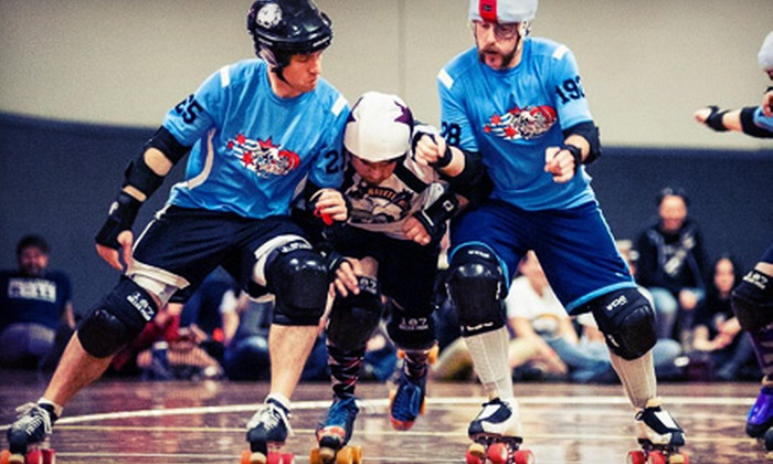 Chicago Bruise Brothers - Lombard: $16 for a Chicago Bruise Brothers Roller-Derby Bout at Lombard Roller Rink on Saturday, August 17 (Up to $27 Value)
