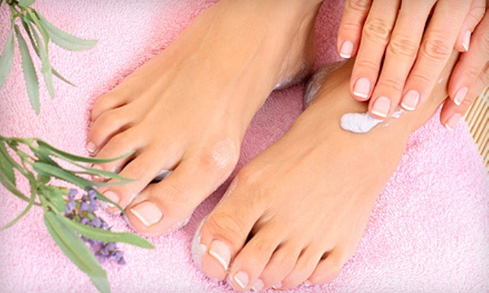 Nails by Noelle inside Tuscany Salons and Spas - Northwest Harris: Mani-Pedi or Miracle Manicure and Spa Pedicure at Nails by Noelle inside Tuscany Salons and Spas in Spring (51% Off)